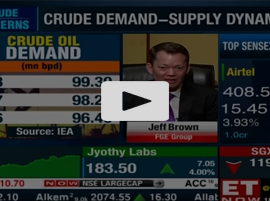 Is the crude story over? | FGE Group's Jeff Brown to ET NOW