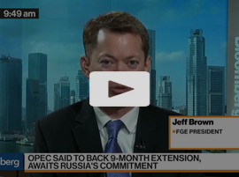 FGE's Brown Says Oil Needs to Stay Around $55 a Barrel